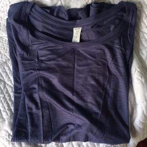 Blue old navy Luxe tee!